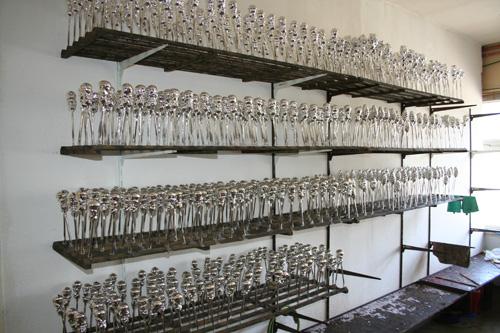 Christbaumschmuck Silberteile